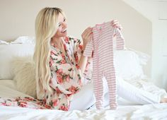Sweet little pink layette