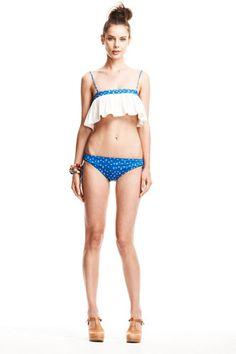 Girly, retro swimwear from go-to designer Lauren Moffatt
