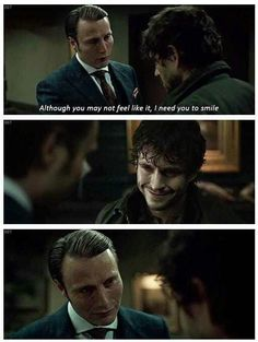 """Hannibal & Will Graham -- """"Anything for you, Hannibal."""""""