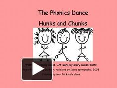 The Phonics Dance Hunks and Chunks Written by Ginny Dowd, Art work by Mary Susan Kuntz PowerPoint Becky Dickson, revisions by Kasia szymanska , 2008