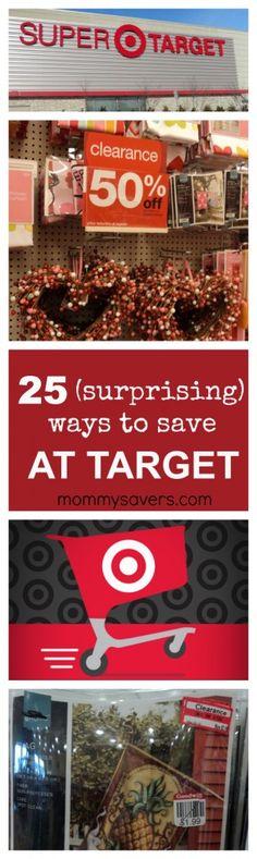 25 (Surprising) Ways to Save Money at Target