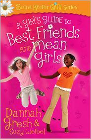 A great resource for moms of tween girls--to teach them about relationships.  Read the review and enter the giveaway:  Best Friends and Mean Girls by Dannah Gresh | I Choose Joy!