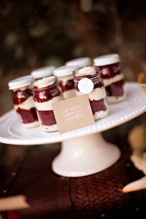 Brothers and Sisters..... we have Red Velvet cupcakes in mason jars. Amen!
