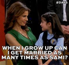#DAYSQuotes lol not exactly what you want your daughter to say!