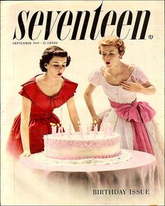 Seventeen magazine 1949 September by AngoraSox, via Flickr