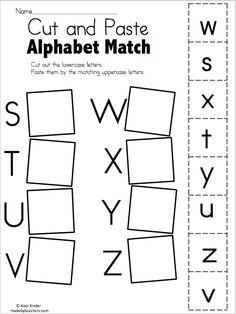 Free Spring Alphabet Worksheet | Alphabet worksheets ...