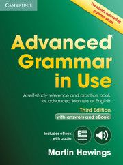 Hewings, Martin Advanced Grammar in Use Book with Answers and Interactive eBook Advanced Grammar, In Use, English Fun, Book 1, Pdf Book, Used Books, Reading Online, Textbook, Self