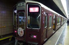 阪急電車・祇園祭仕様