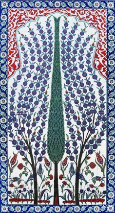 1-Turhan Nacar-ÇİNİ & SERAMİK.. __________________________________________________ Islamic Motifs, Islamic Art Pattern, Ikat Pattern, Pattern Art, Truck Art Pakistan, Turkish Art, Turkish Tiles, Islamic Wall Decor, Tie Dye Crafts