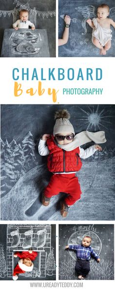 Creative chalkboards. Chalkboard Baby photography art. Newborn Photography. Chalk Art. Baby Chalkboard. Monthly Baby Photos. Blackboard. Sidewalk Chalk.