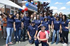 Close-up picture of our wonderful RVH volunteers at Adopt-A-Pet Day May 2014.