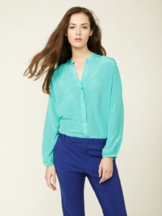Zoe And Sam Silk Blouse Review 82