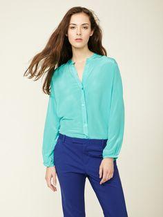 Tammy Silk Blouse by Zoe & Sam on Gilt.com