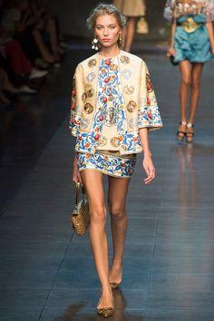 Dolce & Gabbana Spring 2014 RTW COLORS