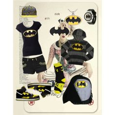"""all BATMAN ;***"" by adinda-baginda on Polyvore"