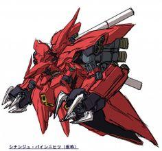 Mobile Suit Gundam UC: Episode 7 'Over The Rainbow' - New Mobile Suit Design Fan Art