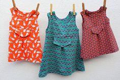 Lily en Woody: Tricot babykleedje: fotohandleiding in 10 stappen
