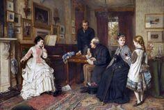 George Goodwin Kilburne - Poor Relations (1875)