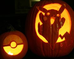 Pokemon pumpkins!