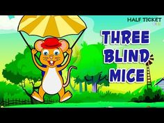 #Kids, have you ever seen #ThreeBlindMice having such fun together? #nurseryrhymes