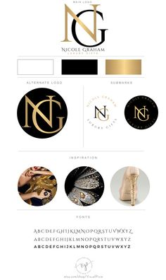 Branding Package Photography Logo Makeup Artist by VisualPixie