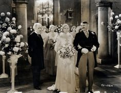 Eleanor Boardman and Jean Hersholt in the 1930 movie, Mamba, one of the first films to be shot in Technicolor.