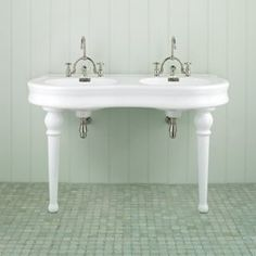 double pedestal sink bathroom antique vintage american standard bathroom sink 1950 s 18180