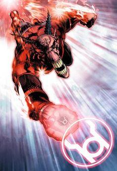 Skallox of the Red Lantern Corps. Dc Comics Heroes, Fun Comics, Marvel Dc Comics, Alex Ross, Comic Book Characters, Comic Character, Red Lantern Corps, Batman, American Comics