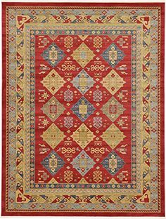 Tribal 10 feet by 13 feet (10 x 13) Serapi Red Area Rug https://arearugsforlivingroom.info/tribal-10-feet-by-13-feet-10-x-13-serapi-red-area-rug-2/