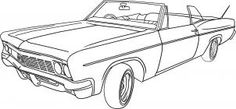 *how to draw a lowrider car step 6