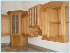 diseños de gabinetes de cocina en madera - Buscar con Google