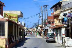 Sidari Strip in Sidari Corfu Greece