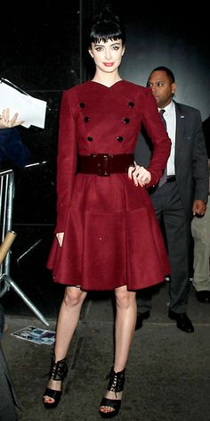 Look of the Day: October 27, 2012 - Krysten Ritter : InStyle.com