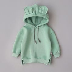 2019 New Spring Autumn Baby Boys Girls Clothes Cotton Hooded Sweatshirt Children's Kids Casual Sportswear Infant Clothing Hoodie Sweatshirts, Baby Hoodies, Baby Outfits, Hooded Sweater, Jumper, Boys And Girls Clothes, Babies Clothes, Babies Stuff, Bear Hoodie