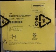 240.10$  Buy here - http://aliewj.worldwells.pw/go.php?t=32785524207 - DHL/EMS 5 Sests New TURCK Proximity Switch BI2U-M12-AP6X-H1141 BI2UM12AP6XH1141 240.10$