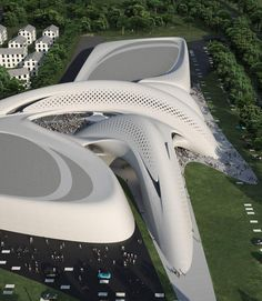 I think Zaha Hadid is revaling Calatrava as my favorite architect.  Jesolo Magica,Italy / Zaha Hadid