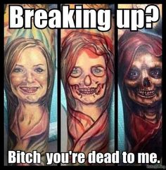 Funny pictures about Ex-girlfriend's Tattoo. Oh, and cool pics about Ex-girlfriend's Tattoo. Also, Ex-girlfriend's Tattoo. Best Cover Up Tattoos, Cover Tattoo, Bad Tattoos, Cool Tattoos, Tatoos, Funny Tattoos, Awesome Tattoos, Awful Tattoos, Worst Tattoos