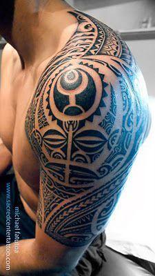 Maori Tattoo Arm