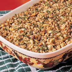 Nutty Barley Bake! It's very easy to make (I once made it while on the phone to my Grandma!) and VERY YUMMY!!! :D