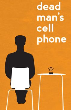 I like this poster because it displays Gordon and his cell phone.  His cell phone just rang and kept on ringing.  It was very sharp compared to the quiet scene.