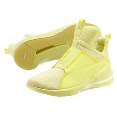 Oh these shoes are on point! The Puma Elfin Yellow Fierce Bright Mesh Women's Training Shoes are lovely. This elfin yellow color is so vibrant and offers a cool look for your overall style. I'm a big fan of the quilted mesh for breathability and even the slip-on construction that makes taking these shoes off and …