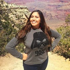 knows how to spend her holiday! Star Wars Girls, Graphic Sweatshirt, Sweatshirts, Instagram Posts, Holiday, Sweaters, Tops, Women, Fashion
