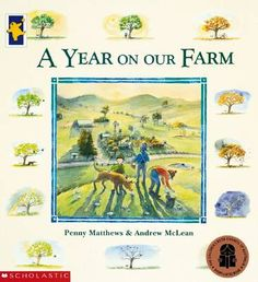A Year On Our Farm by Penny Matthews. Australian! Lots of words to read, so not for the very beginner reader.