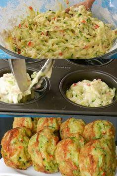 Nuvole di zucchini e formaggio Pesto Pasta, Antipasto, Quiches, Italian Recipes, Main Dishes, Appetizers, Food And Drink, Low Carb, Snacks