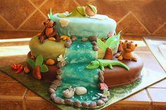 Baby Animals Cake - Whipped Bakery
