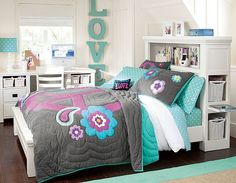 Best Teen Girl Bedroom Ideas 20 Stylish Teenage Girls Bedroom Ideas Home Design Lover - When it pertains to enhancing rooms it's about balance. Teenage Girl Bedroom Designs, Teenage Girl Bedrooms, Girl Rooms, Tween Girls, Girly Girls, Teal Girls Bedrooms, Teenage Beds, Teenage Room, Girls Bedroom Furniture