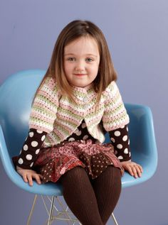 """Pram Parade Sweater Set """"LionBrand"""" Very sweet and I believe this is one a friend made....easy and turned out well"""