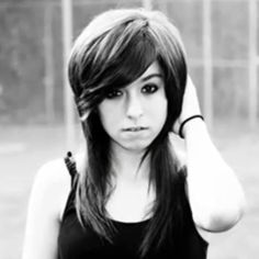 christina grimmie - i absolutely love her! her voice is so unique and amazing. and i want her hair! :P