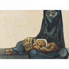 ECUADOR. Eduardo Kingman. Eduardo Kingman Riofrío (Loja, 23 de febrero de 1913 - Quito, 27 de noviembre de 1997) fue un pintor, dibujante, grabador y muralista ecuatoriano, considerado como uno de los maestros del expresionismo ecuatoriano.