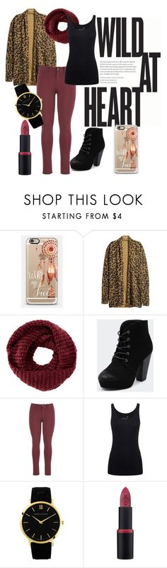 """wild at heart"" by blackswan2712 ❤ liked on Polyvore featuring Casetify, H&M, TOMS, Therapy, maurices, Juvia and Larsson & Jennings"